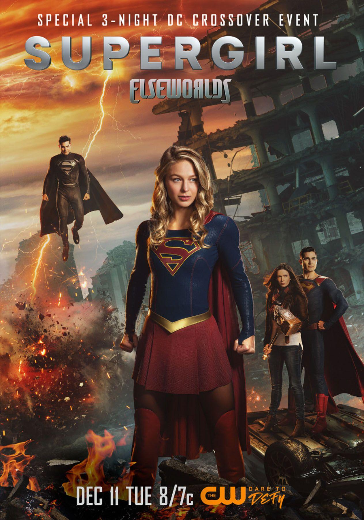 Elseworlds: Melissa Benoist on Batwoman, Superman, and