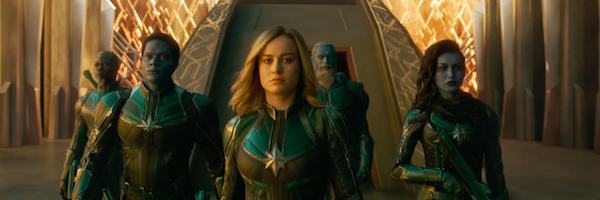 Captain Marvel Trailer Breakdown Reveals Skrull Kree And A Classic