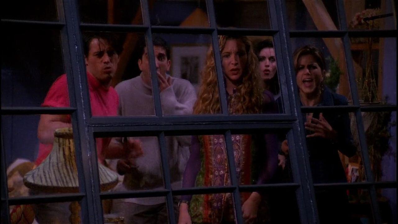 Friends new years episode season 1