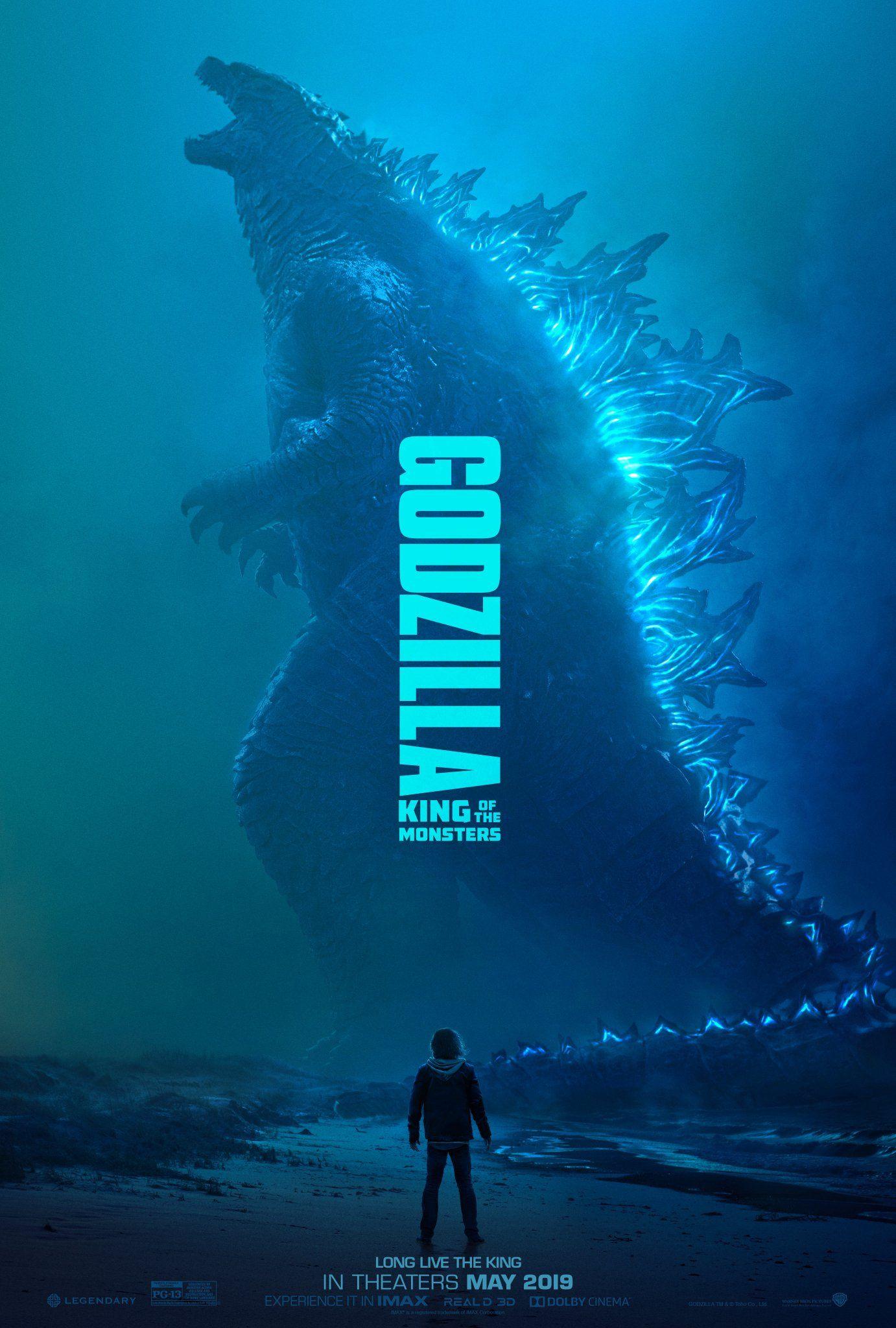 ผลการค้นหารูปภาพสำหรับ GODZILLA 2 poster