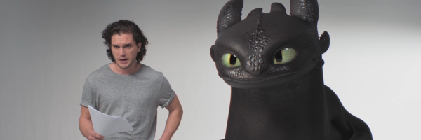 Kit Harington Auditions With Toothless In New How To Train Your