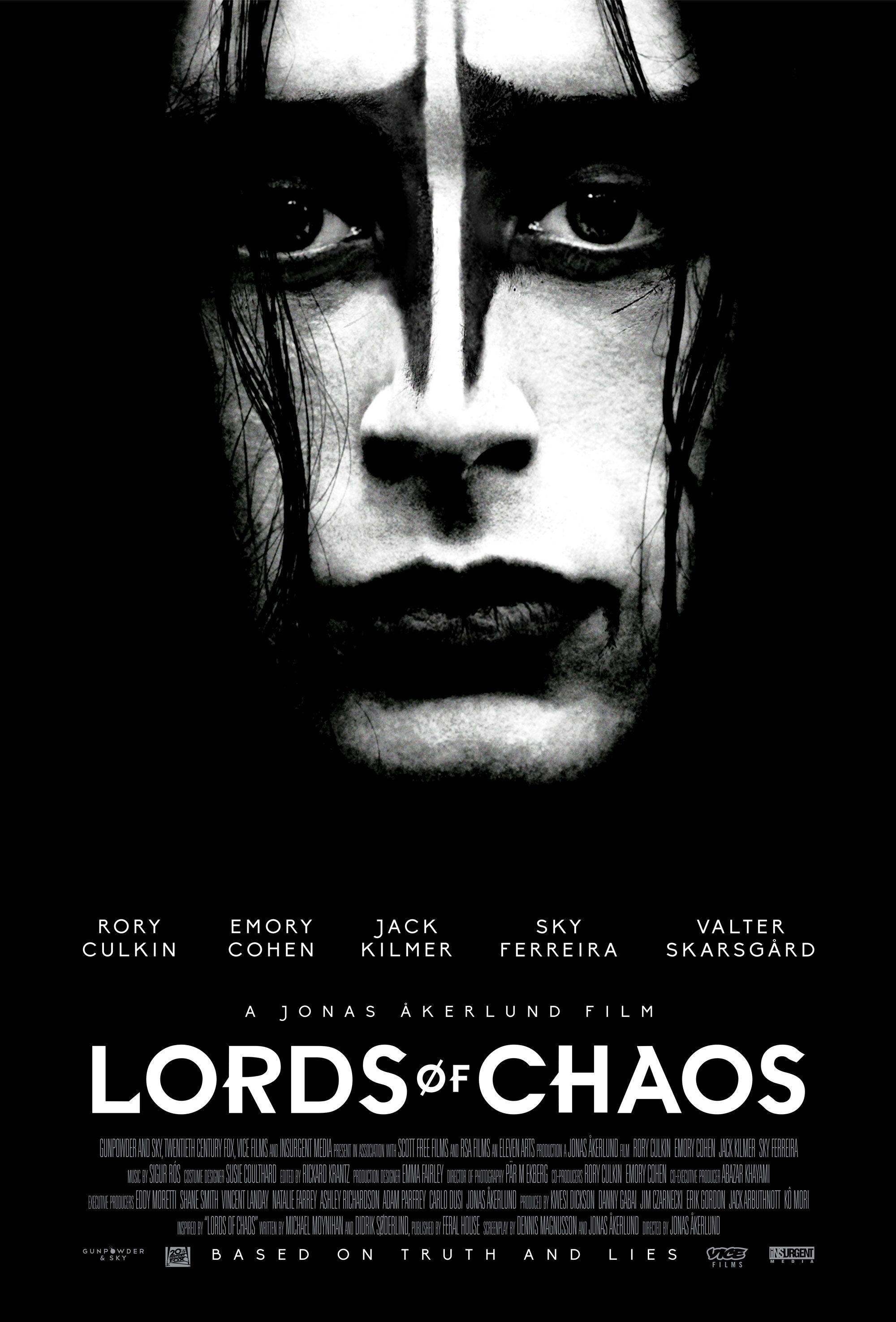 Lords of Chaos Poster Reveals a Black Metal Rory Culkin ...