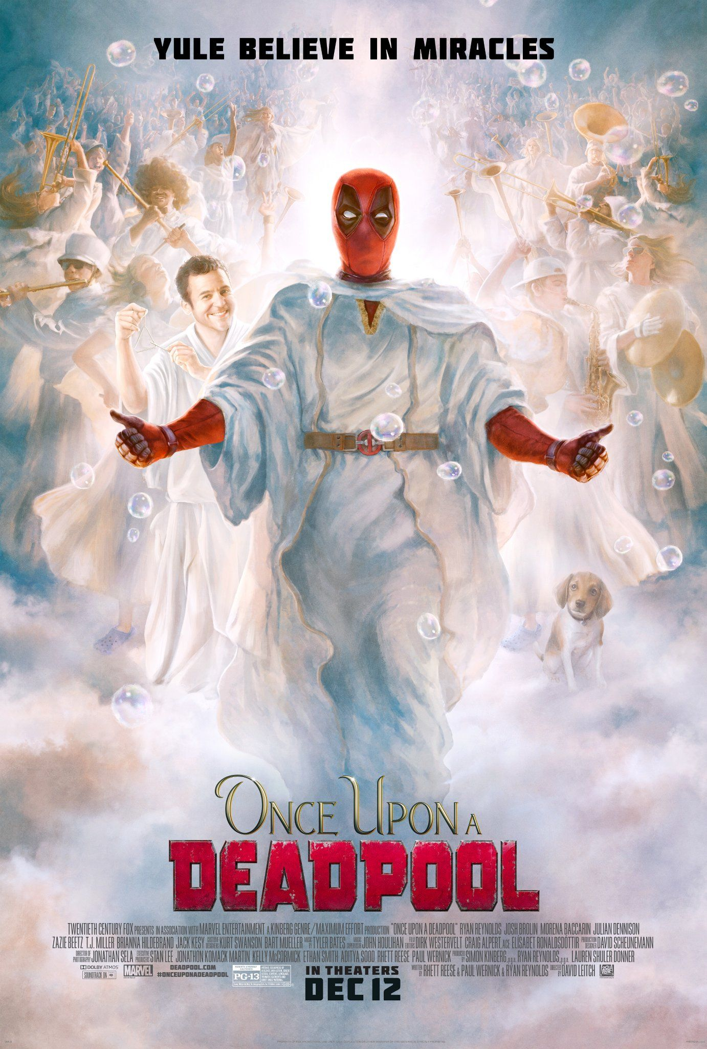 Heavenly New Once Upon A Deadpool Poster Promises Yule Believe In