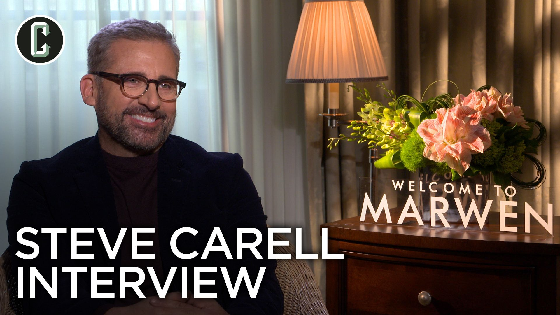 Steve Carell on Working with Professional Doll Handlers on 'Welcome to Marwen'