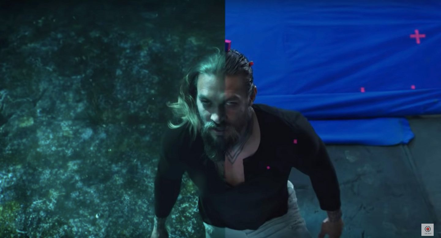 Aquaman VFX Reel Shows How the Underwater World Came to Life