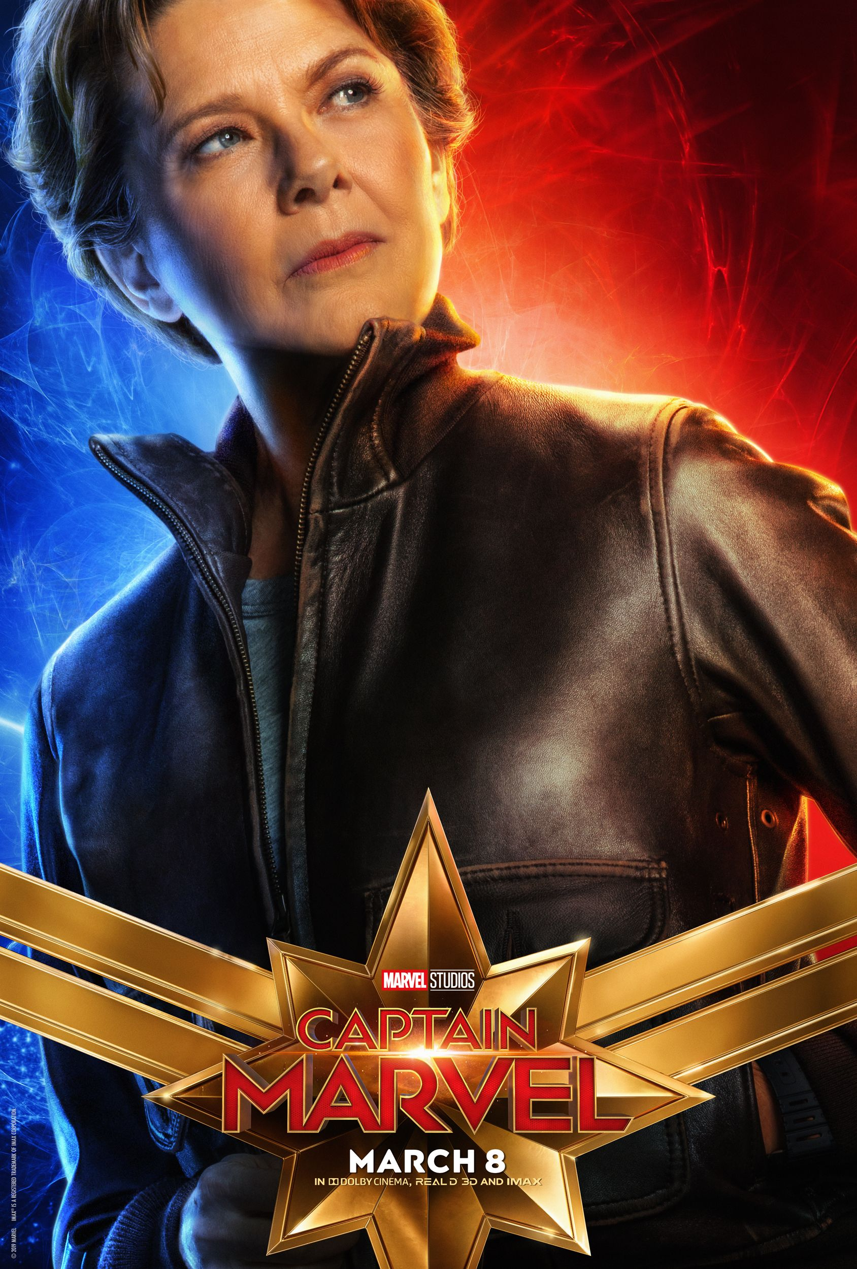 captain marvel character posters reveal brie larson, goose, and more