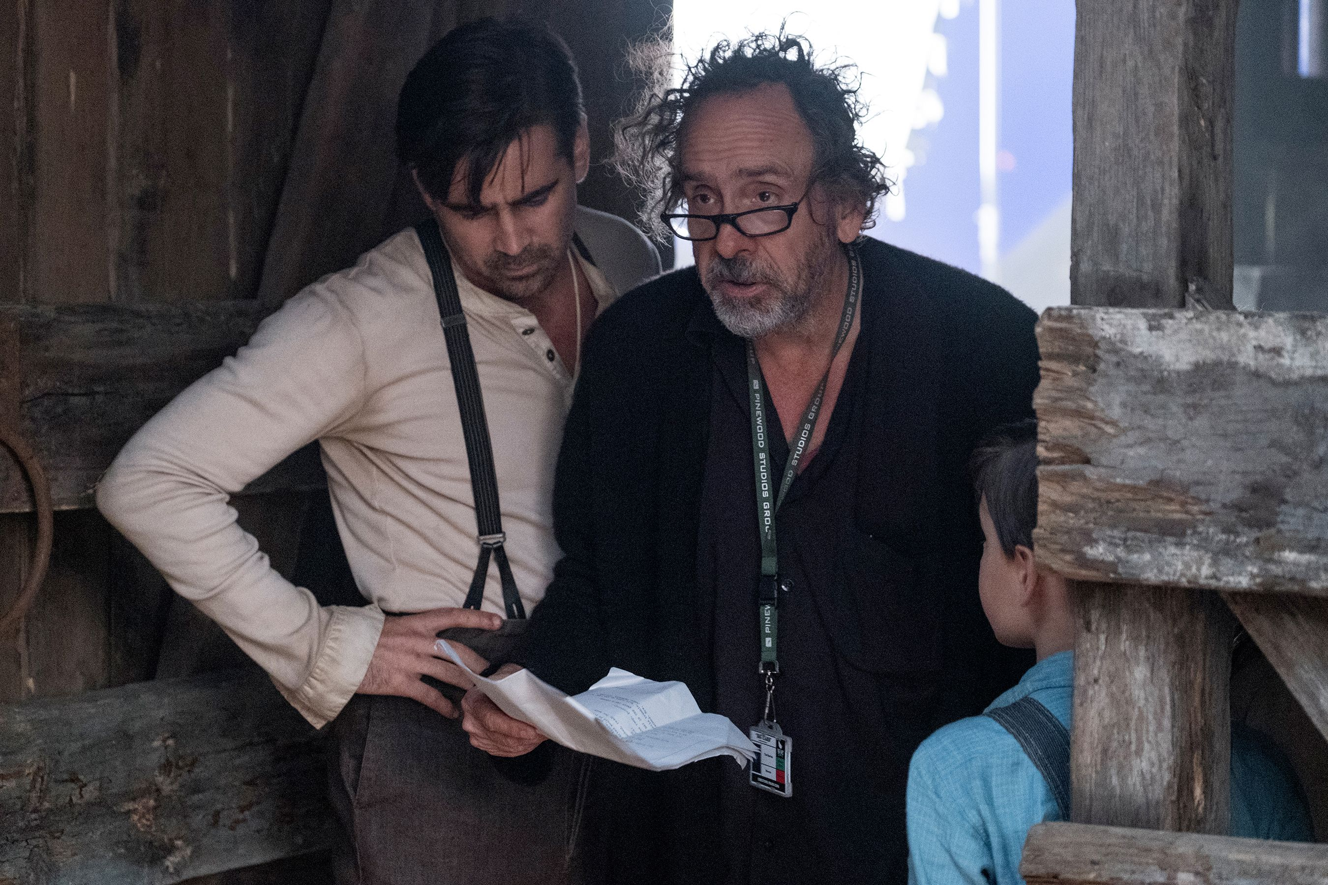 Colin Farrell on Dumbo and Tim Burton   Collider