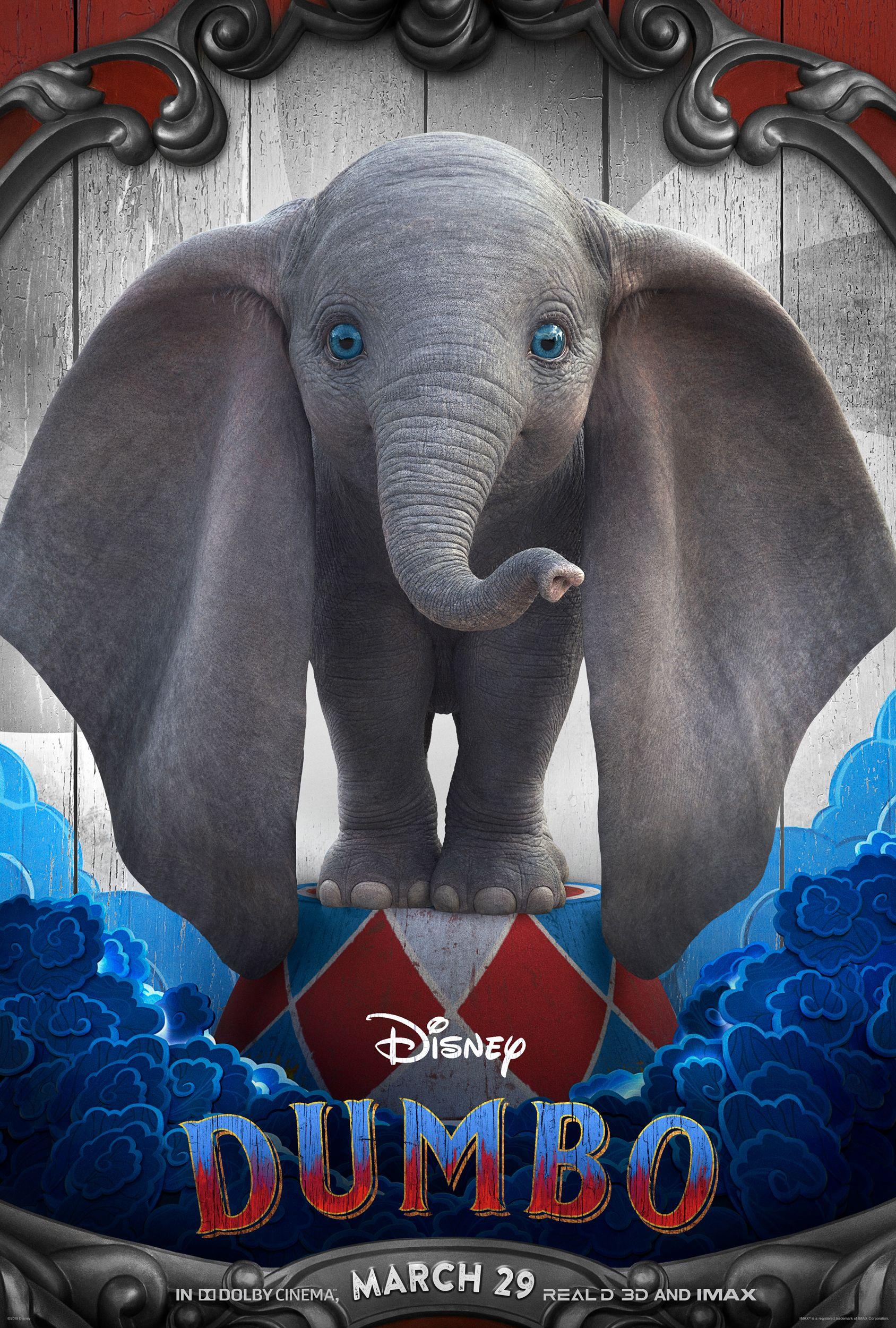 dumbo character posters reveal tim burton u0026 39 s whimsical take
