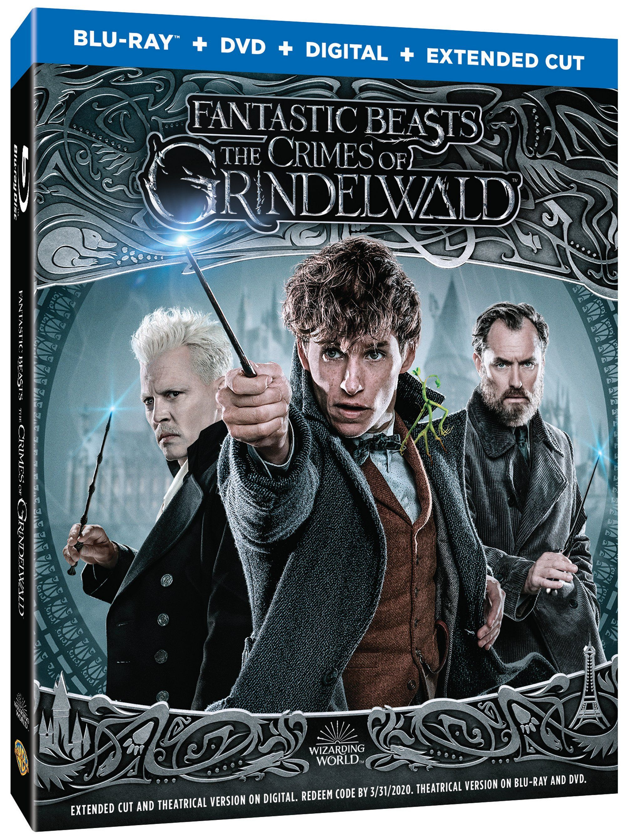 Fantastic Beasts 2 Bluray Includes Extended Cut of the Film | Collider