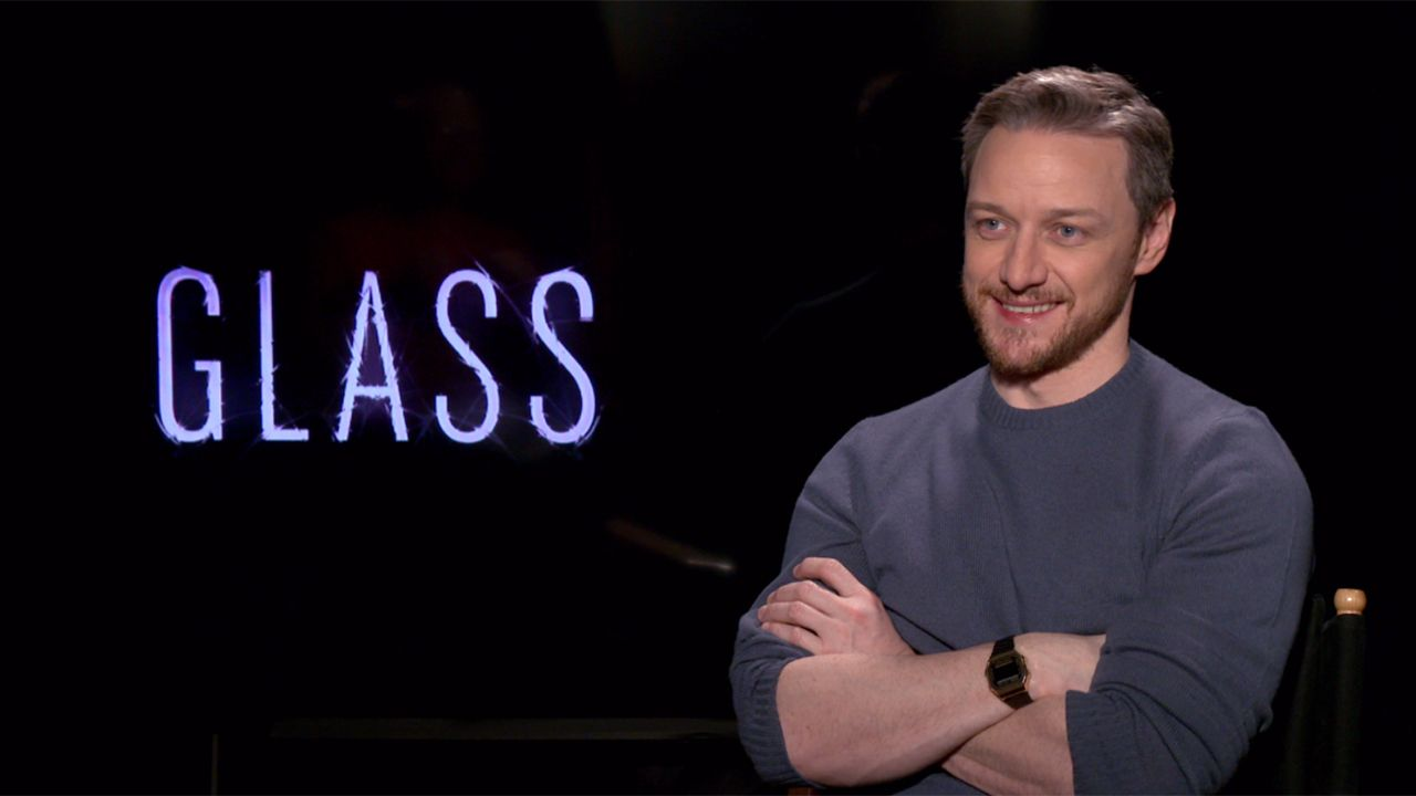 """James McAvoy on 'Glass' and 'It: Chapter 2'', Which He Calls """"Really Disturbing"""""""