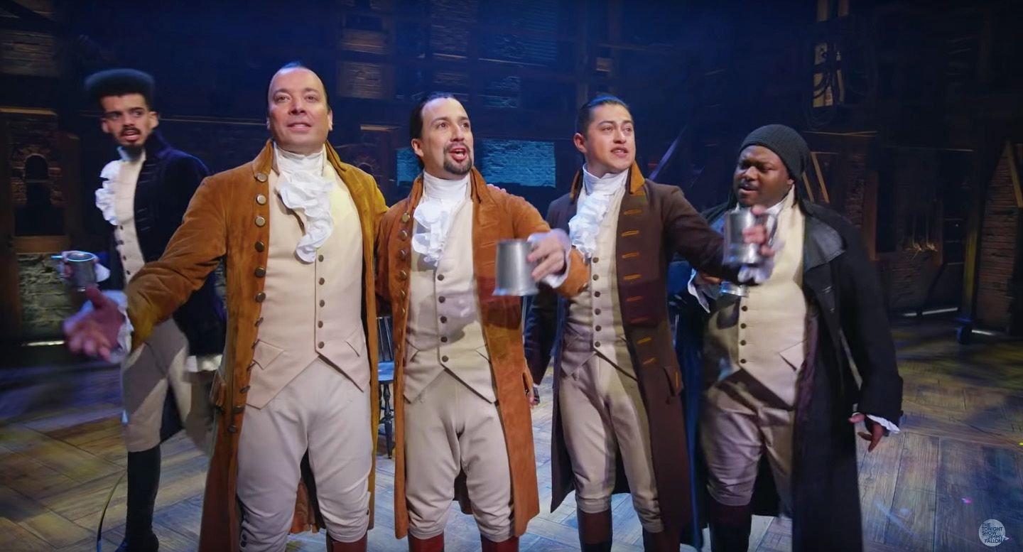 Watch Jimmy Fallon Join Lin-Manuel Miranda and Hamilton ...