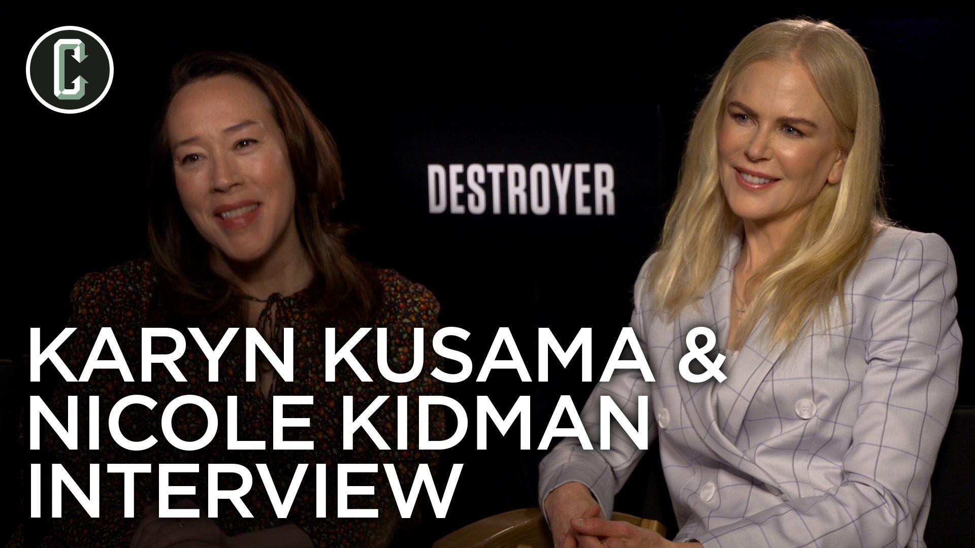 Nicole Kidman and Karyn Kusama on 'Destroyer', Realistic Violence, & Non-Linear Storytelling
