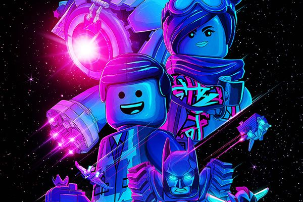 The LEGO Movie 2 Poster Has a Sweet Blacklight Effect ...