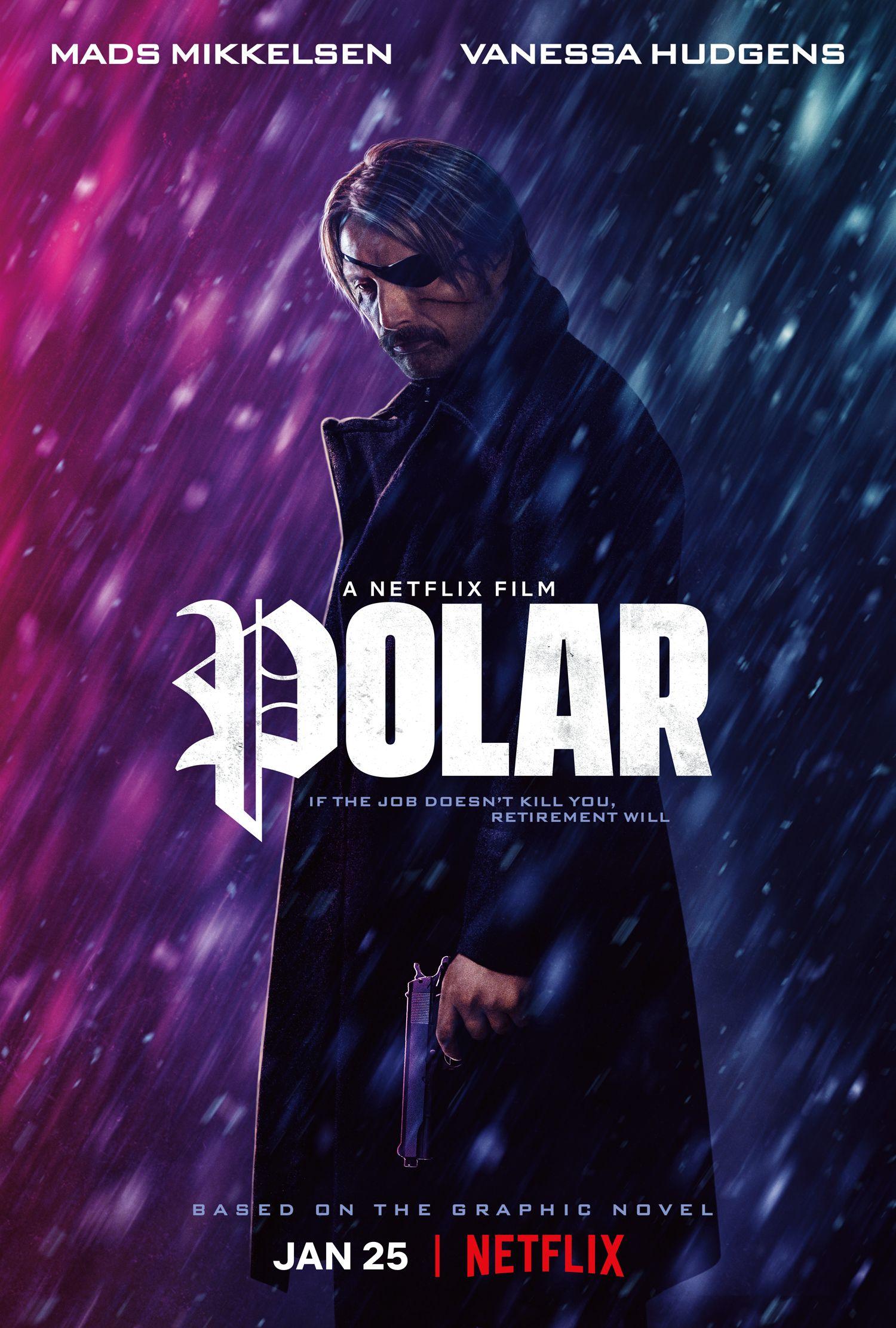 تریلر فیلم Polar با بازی مدز میکلسن و کارگردانی یوناس آکرلوند