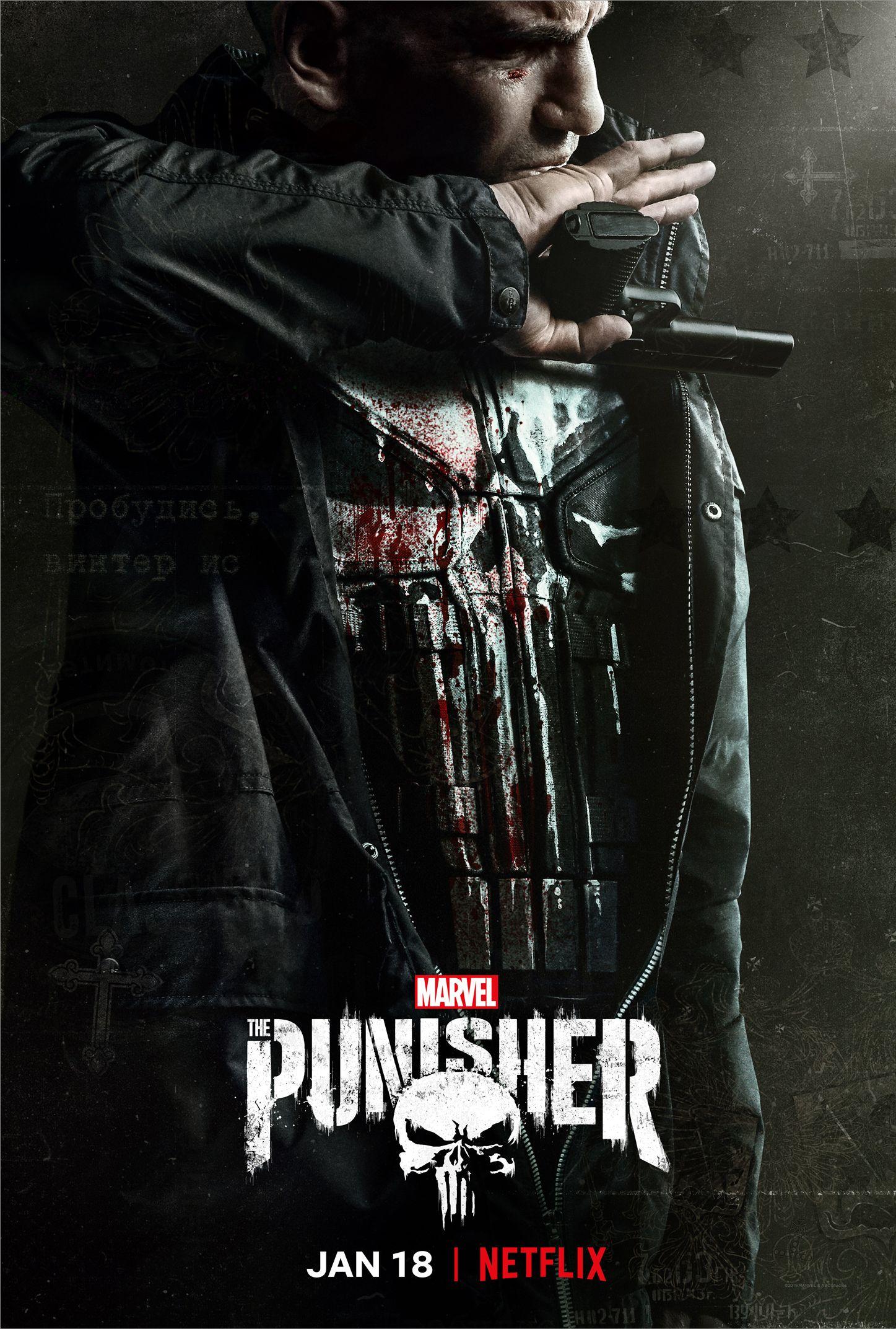 تریلر جدید فصل دو The Punisher