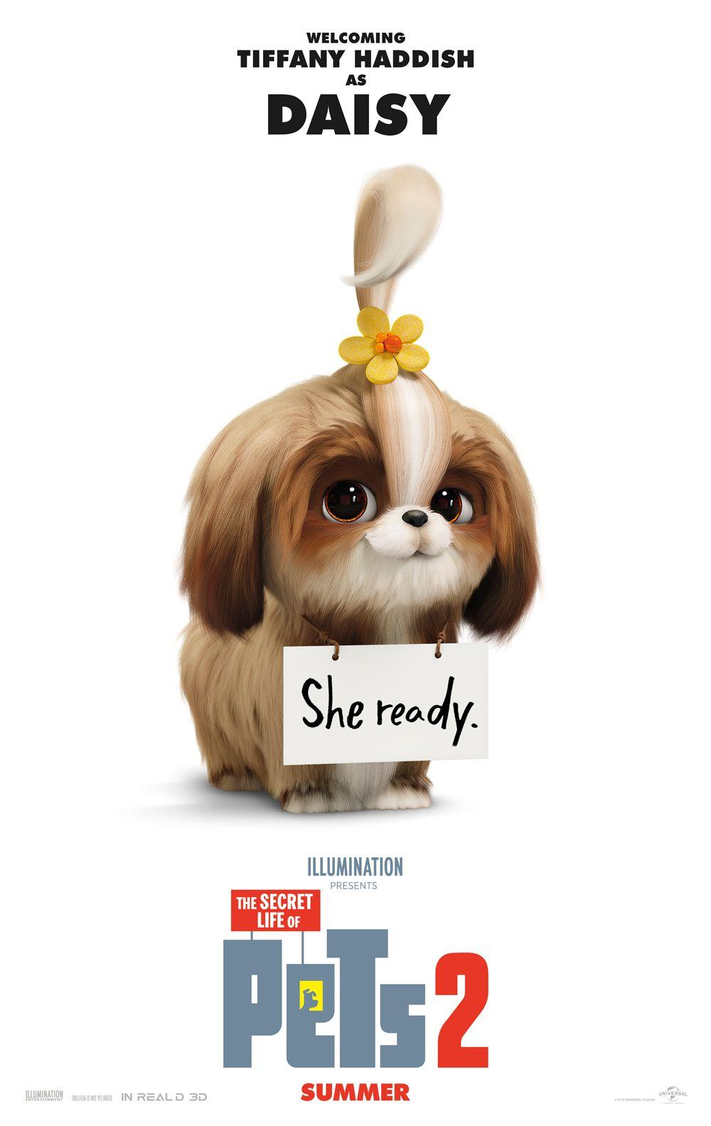 تیزر جدید انیمیشن زندگی پنهانی حیوانات خانگی ۲ | معرفی Daisy با صدای تیفانی هدیش