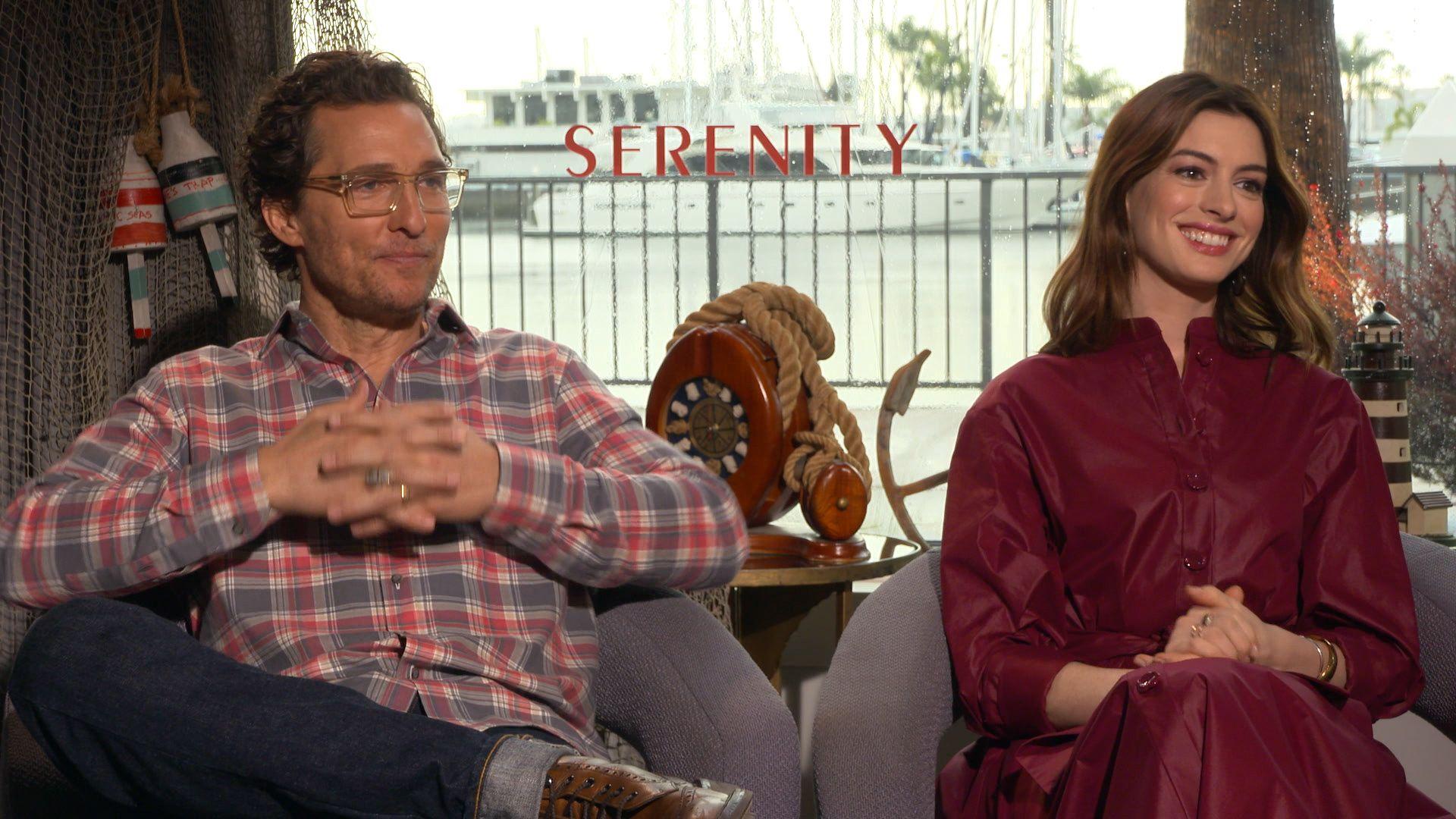'Serenity': Matthew McConaughey and Anne Hathaway on Their Twisty Thriller