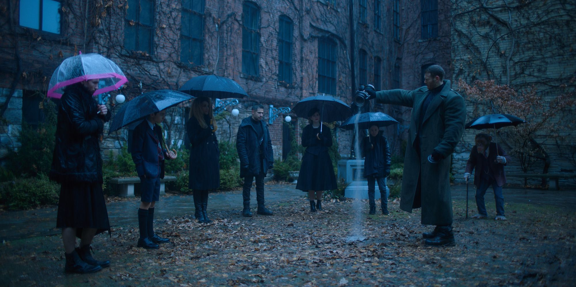 The Umbrella Academy: Jordan Claire Robbins on Playing a