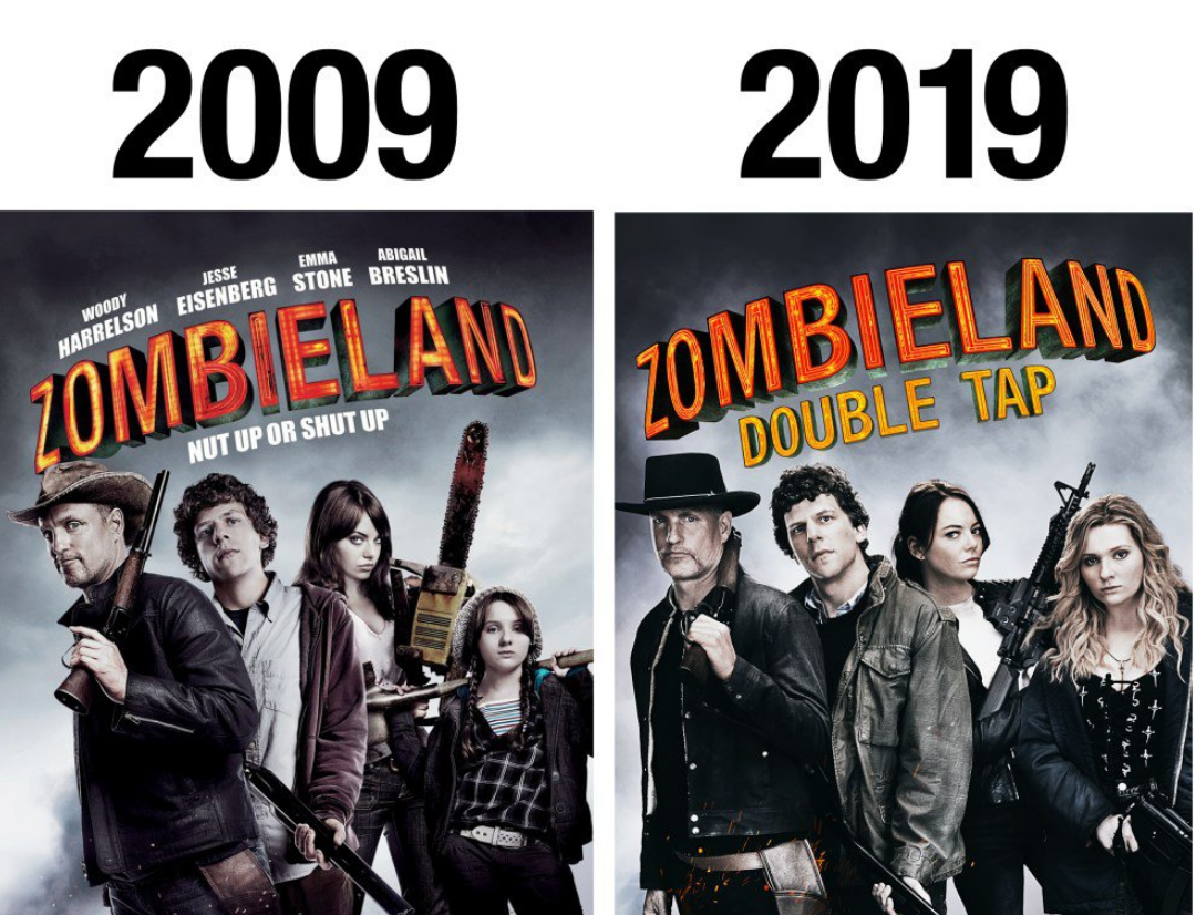 Zombieland: Zombieland 2 Poster Reveals First Look And Full Title