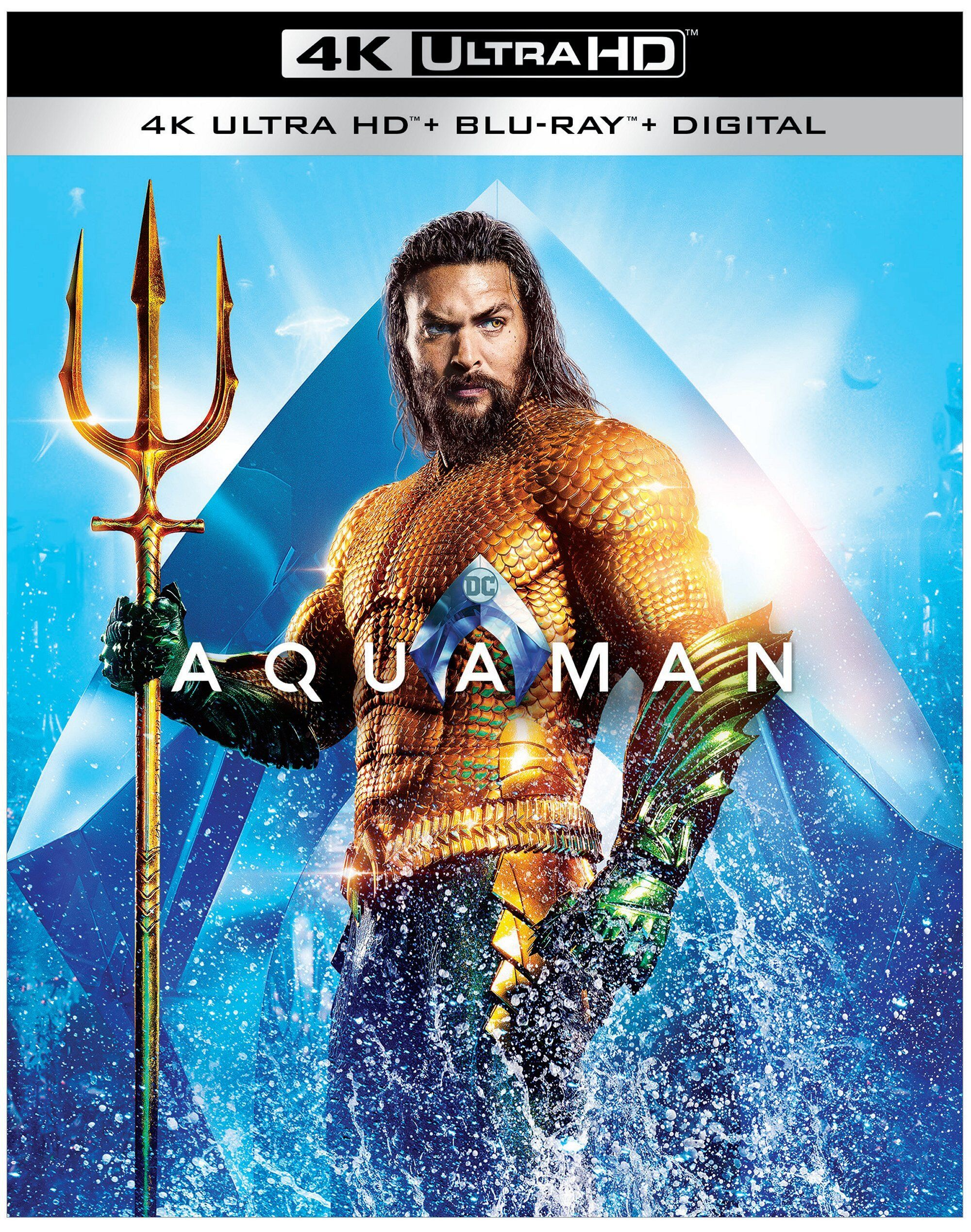 Aquaman Blu Ray Details And Release Date Revealed Collider