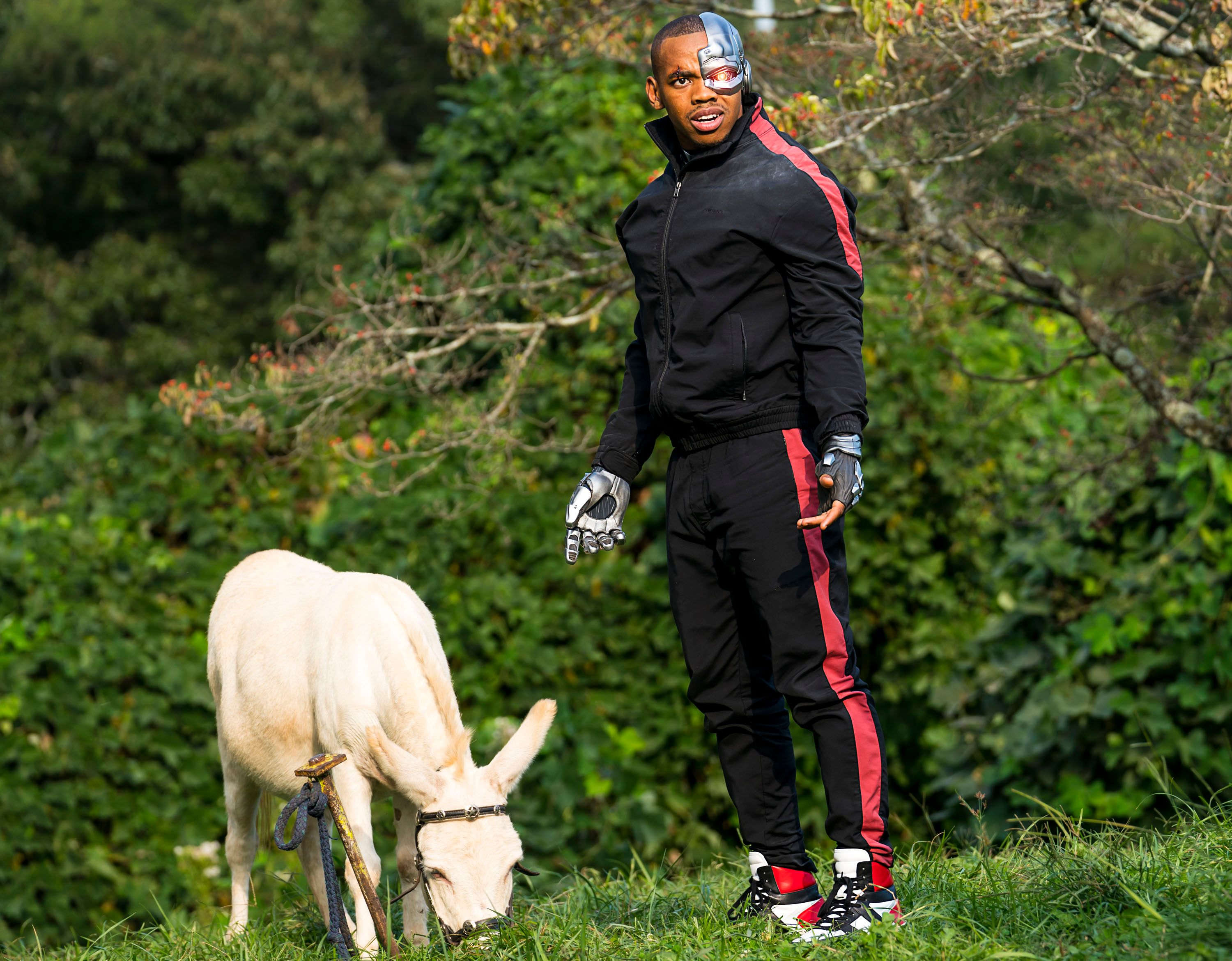 Joivan Wade On Dc Universe S Doom Patrol And Playing Cyborg Collider