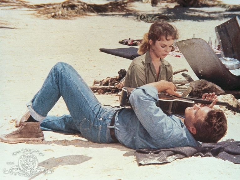 Elvis Presley and Anne Helm in Follow That Dream