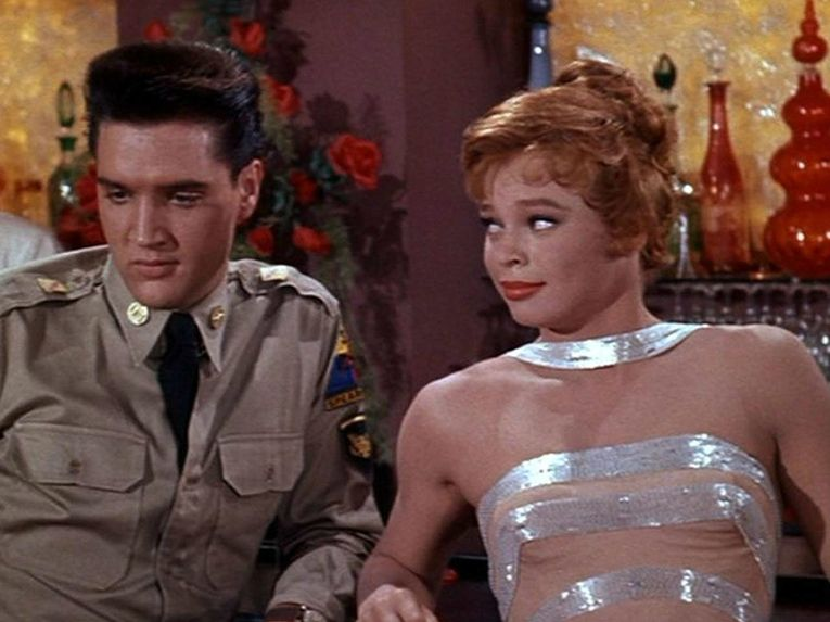 Elvis Presley and Juliet Prowse in G.I. Blues