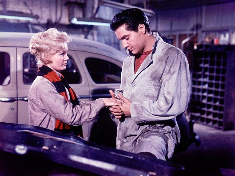 Elvis Presley with Tuesday Weld in Wild in the Country