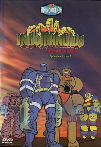 inhumanoids-dvd