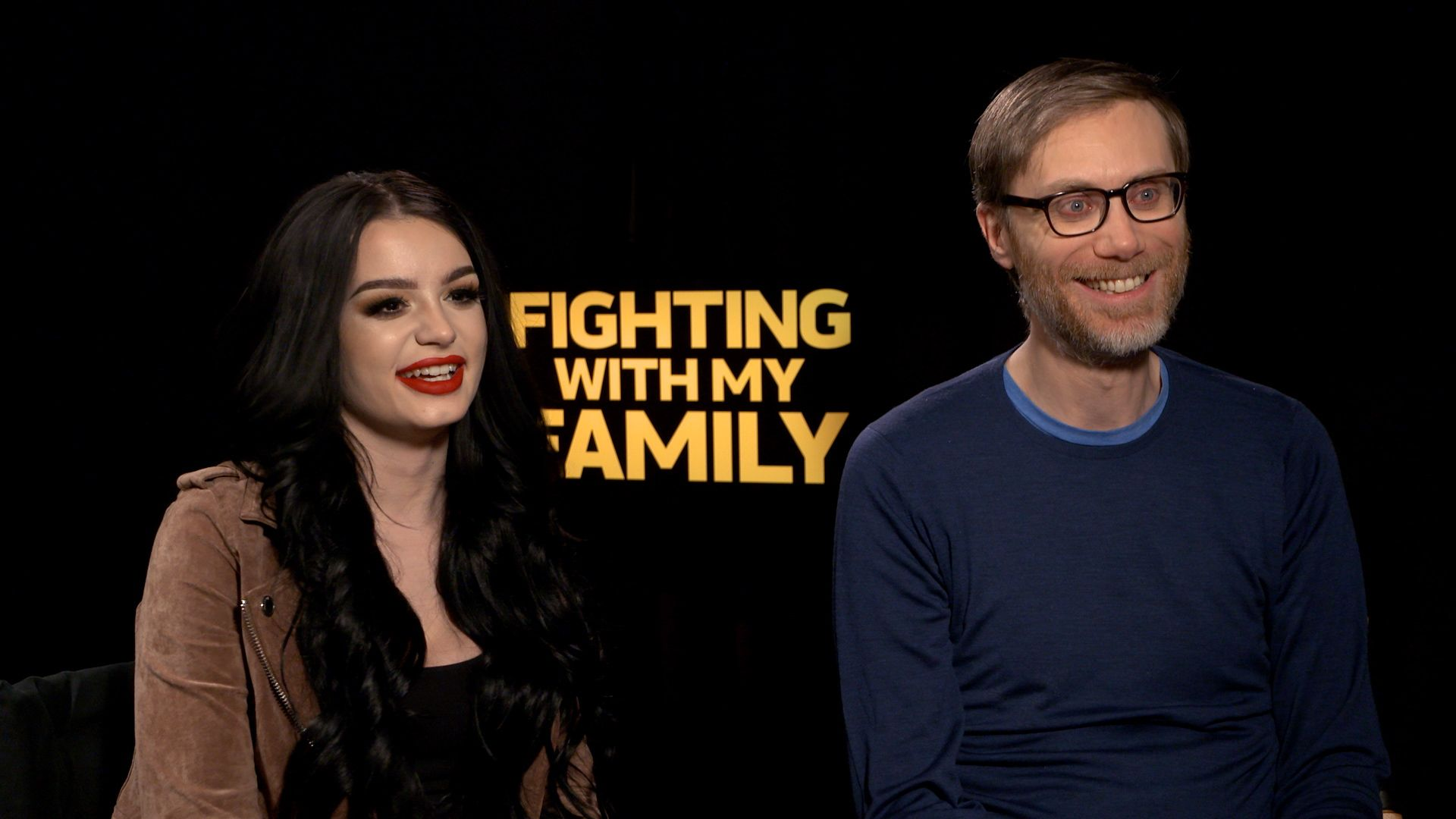 Paige & Stephen Merchant on 'Fighting With My Family' and the Importance of Adding Humor