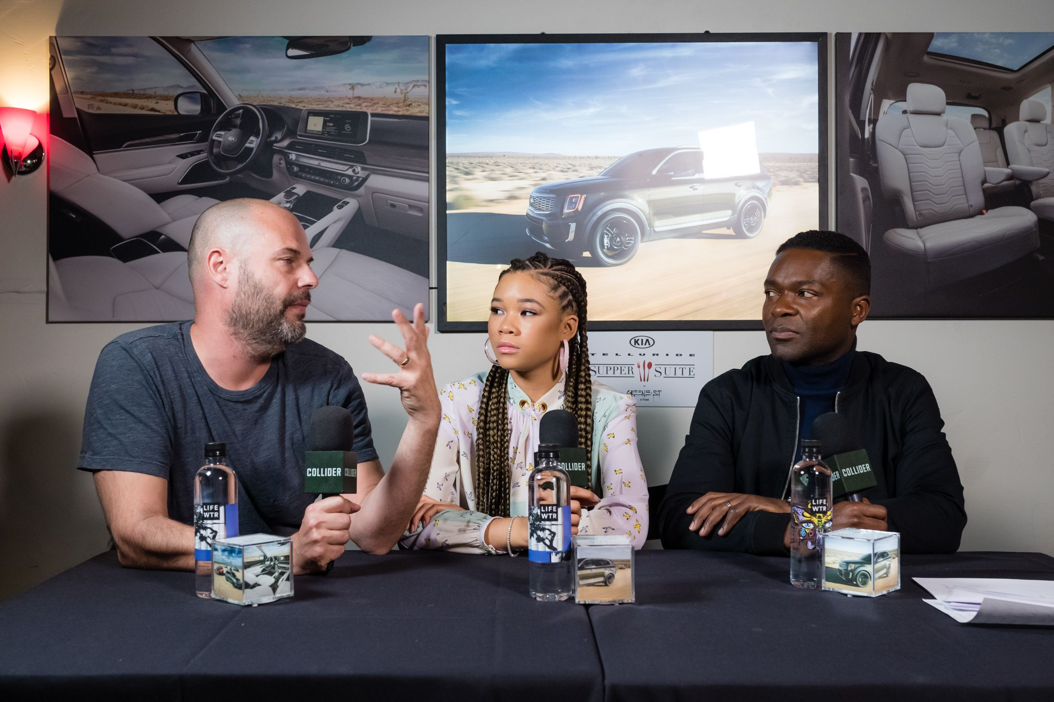 Relive: David Oyelowo and Storm Reid on Their Sci-Fi