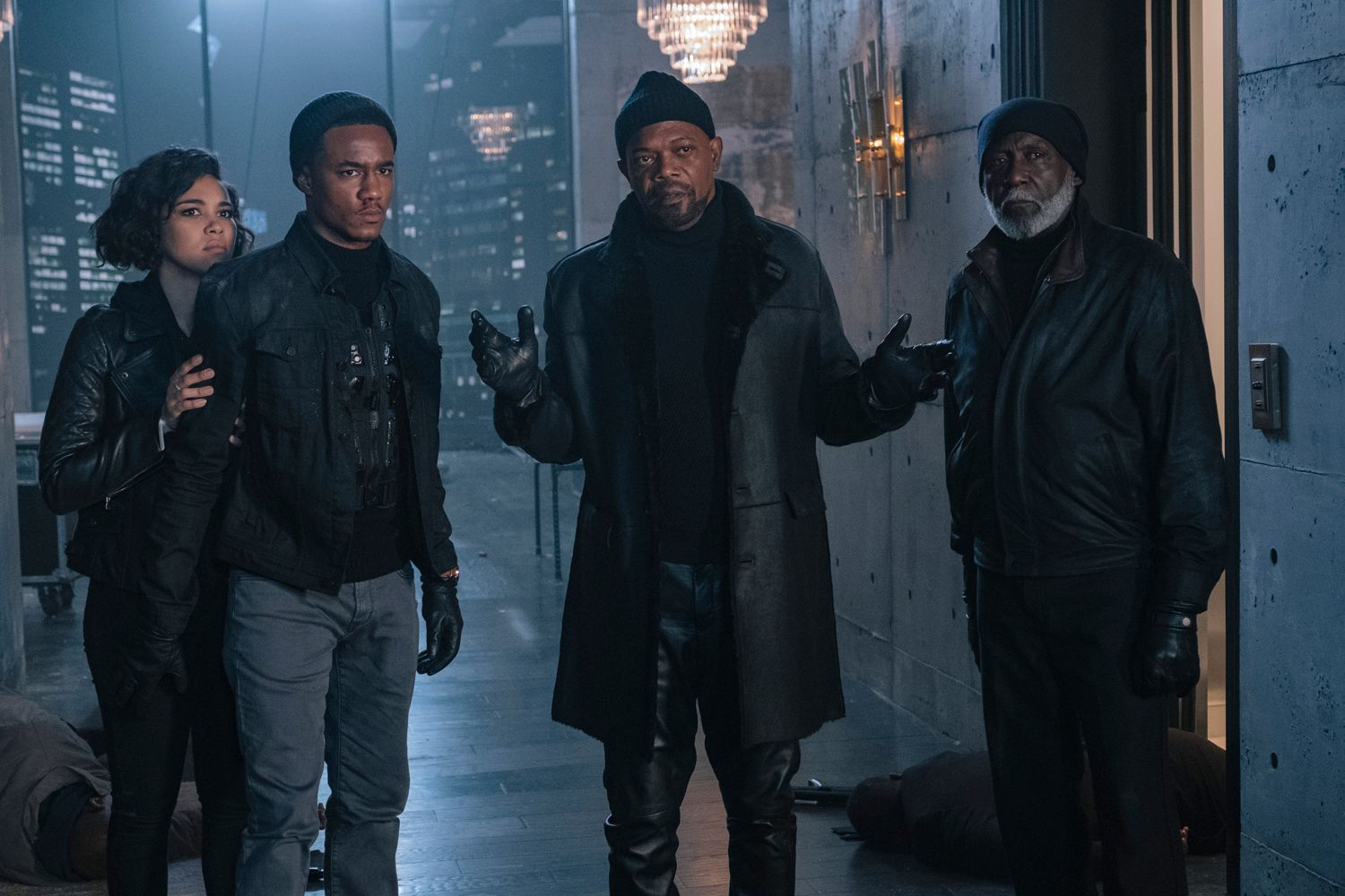 shaft trailer teases three generations of john shaft
