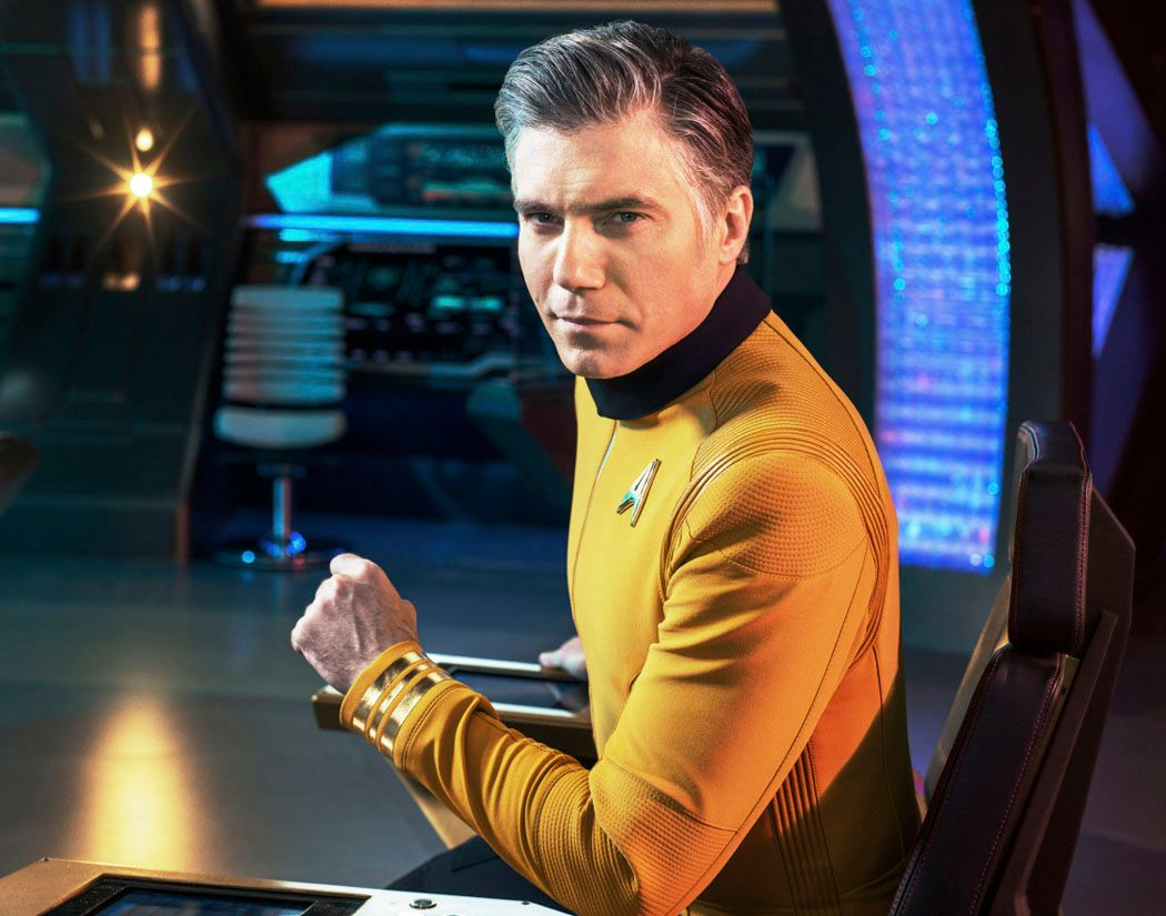 Star Trek Discovery Season 2: Anson Mount on Captain Pike