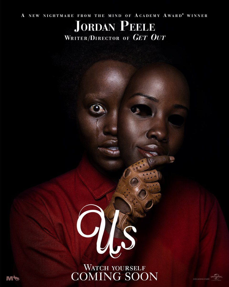 پوستر جدید فیلم Us با بازی لوپیتا نیونگ او و وینستون دوک را در دژم ببینید :