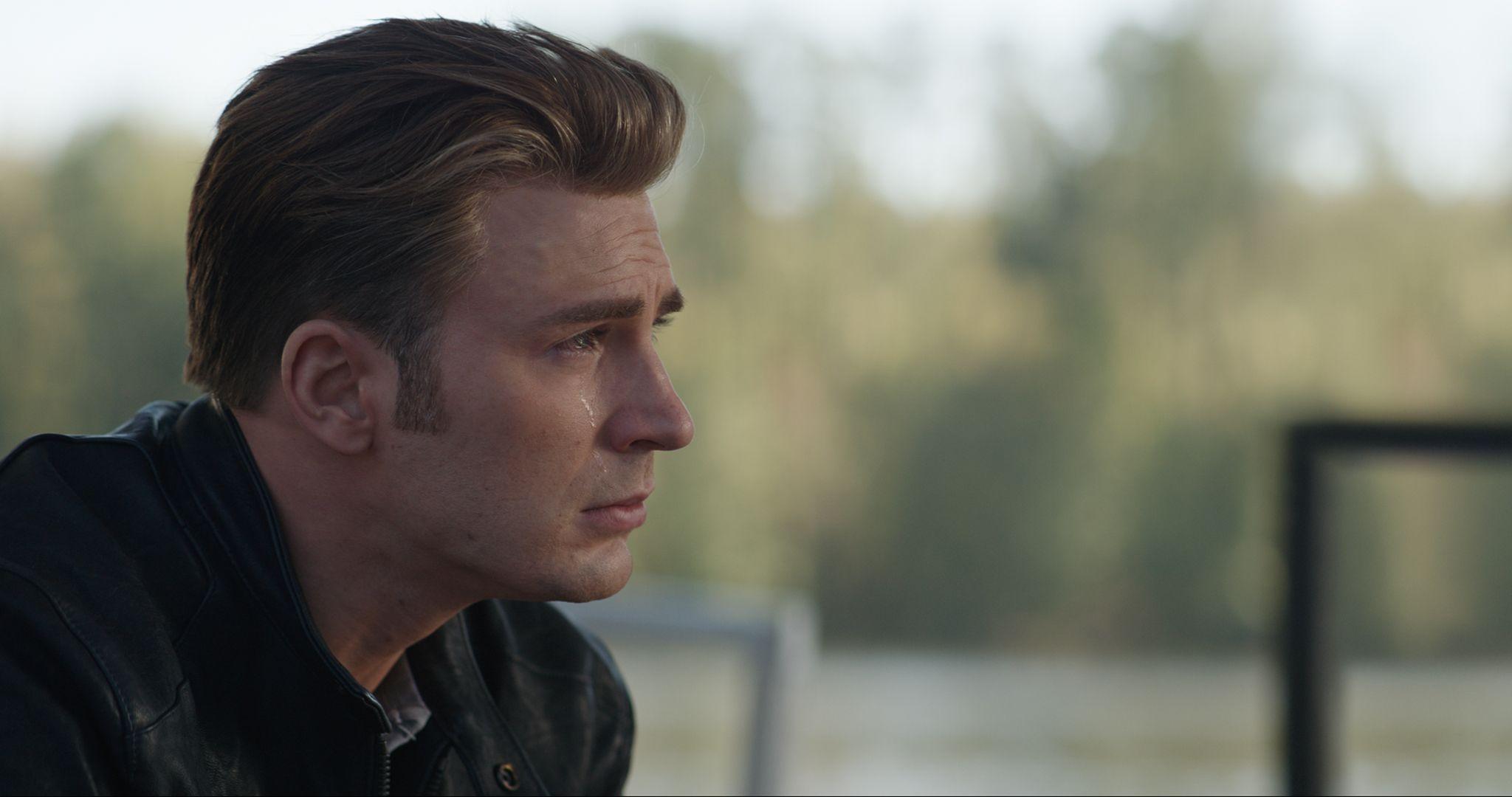 Avengers Endgame Images Sad Chris Evans