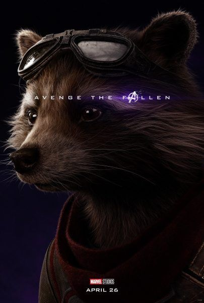 Avengers Endgame Character Posters Confirm the Living and