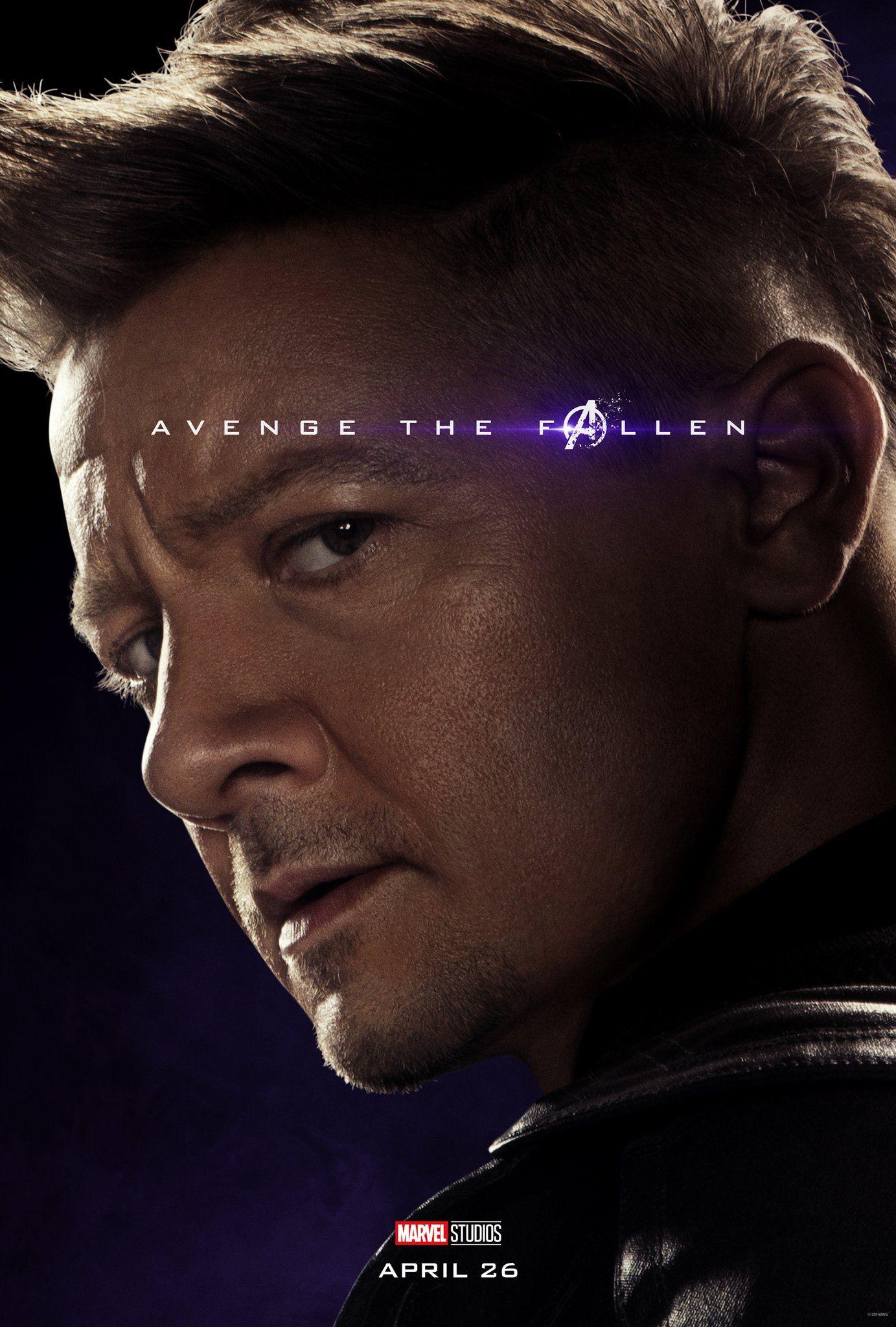 Avengers: Endgame Rollen
