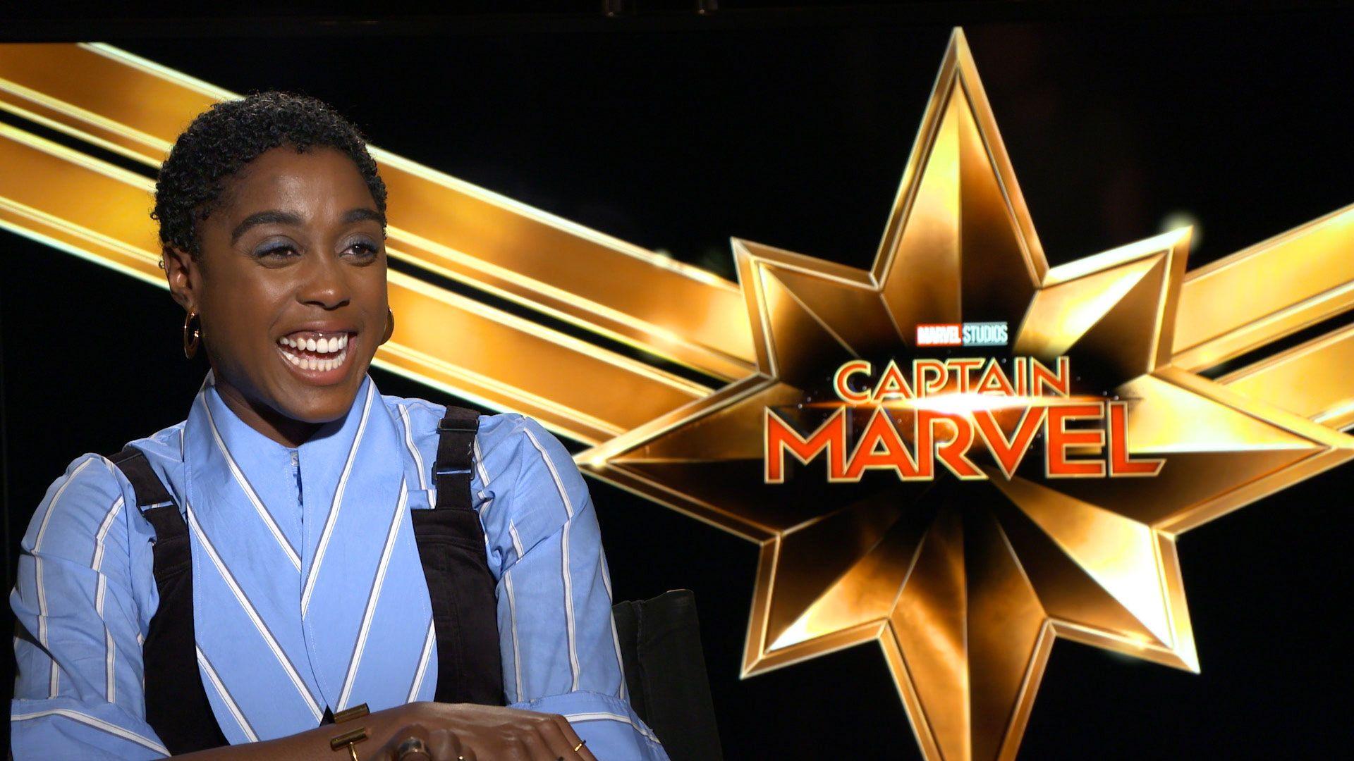 Captain Marvel: Lashana Lynch Teases Ben Mendelsohn's ...