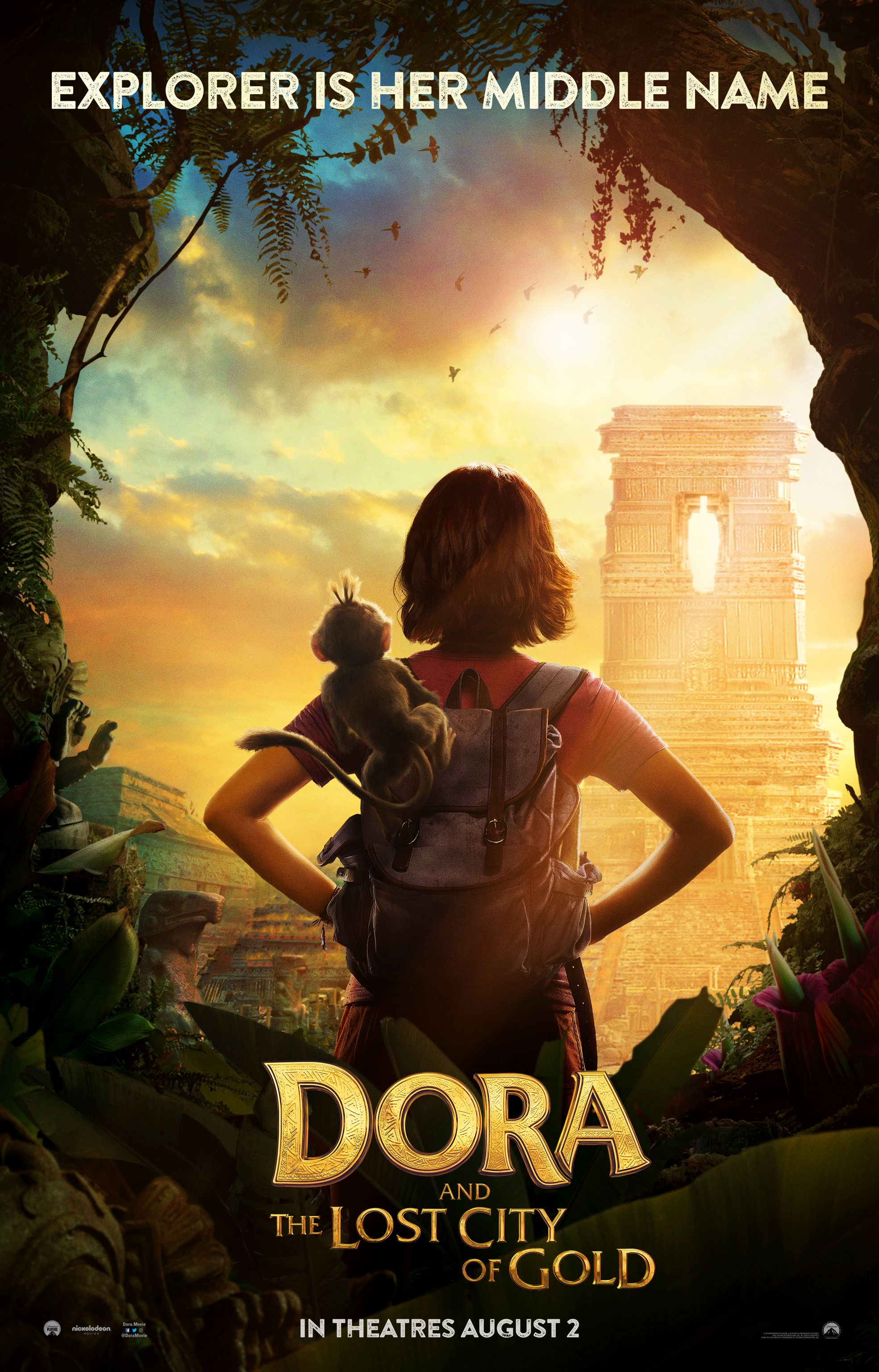 Dora And The Lost City Of Gold Trailer Goes On A Treasure