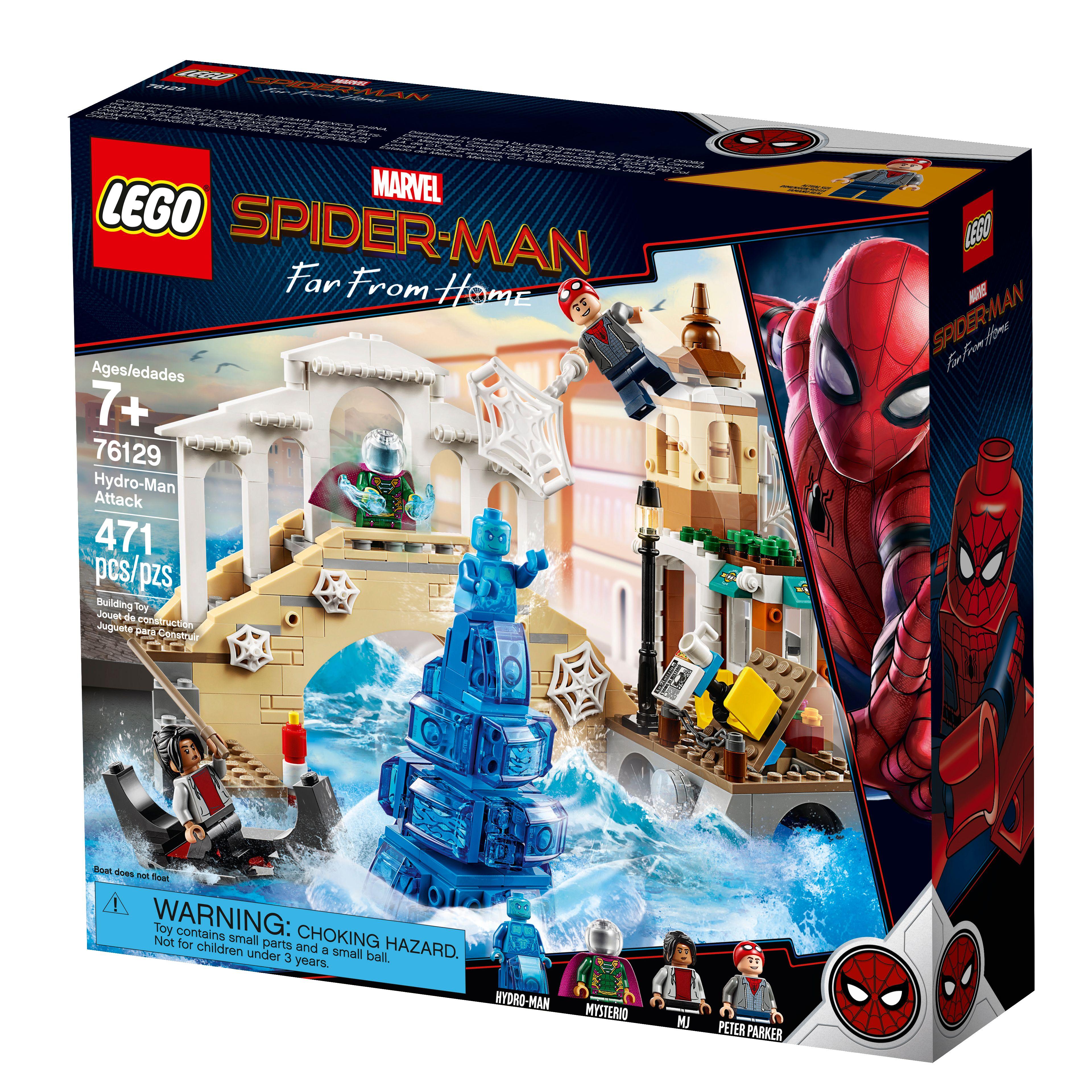 Far From Home New 2019 Film Marvel Building Blocks Toys Peter Parker Spider-Man