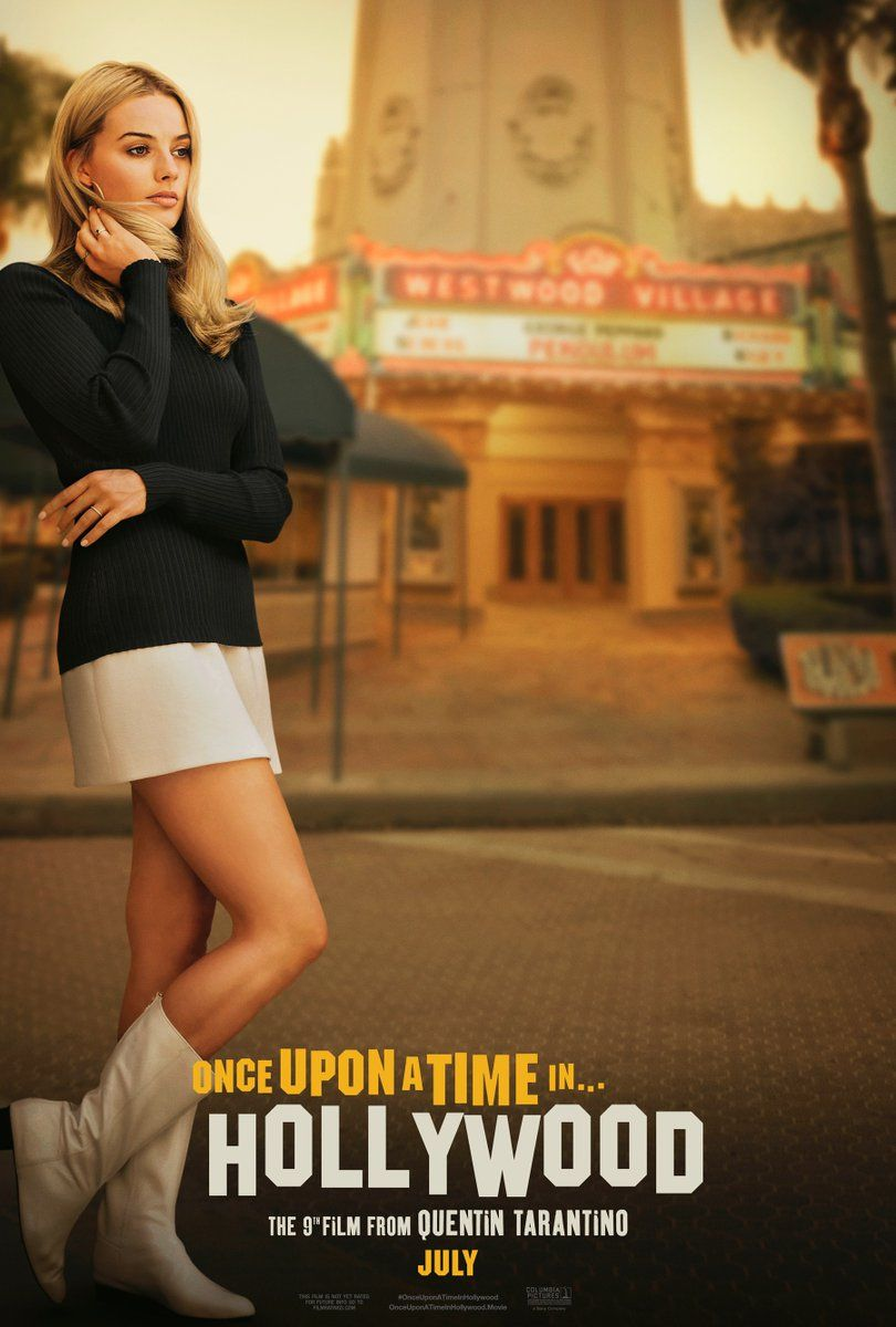 Once Upon a Time in Hollywood': New Poster Features Margot