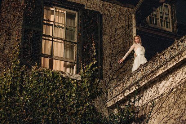 Samara Weaving in the film READY OR NOT.