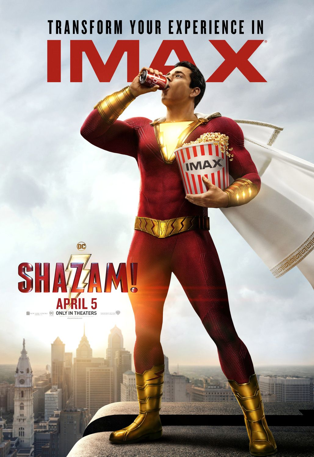 Movie Poster 2019: Zachary Levi On Shazam! And Why Comic Book Movies Are So