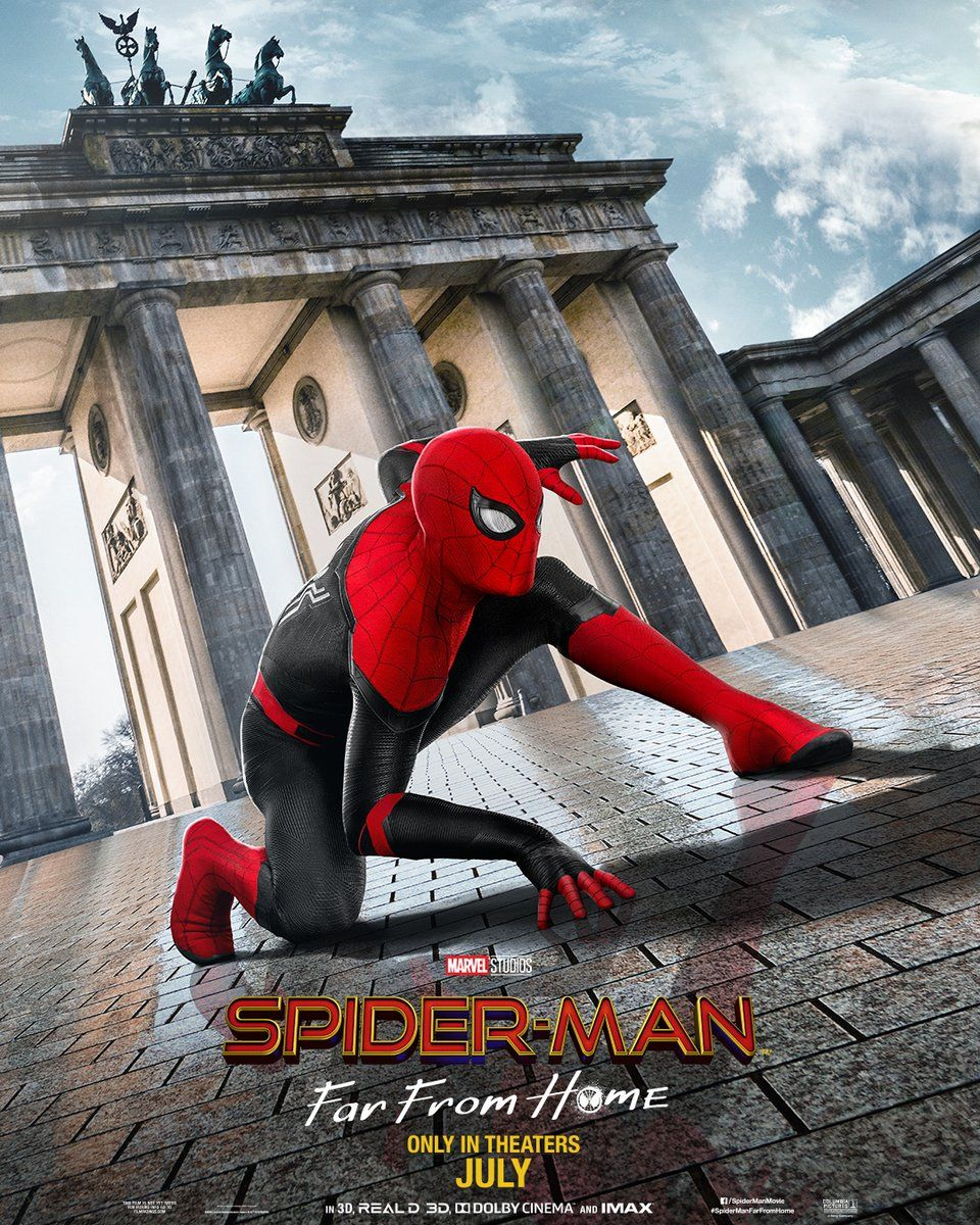 Spider-Man Far From Home: New Posters Go On A European