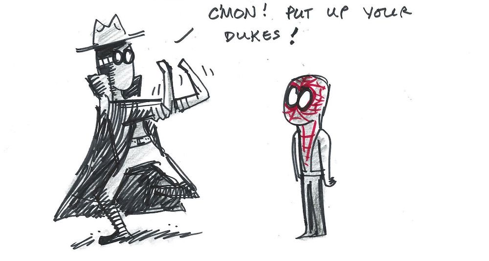 Spider-Verse: Nicolas Cage Becomes Spider-Man Noir in Bonus