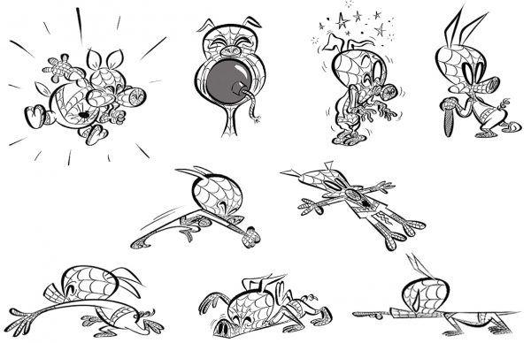 spider-man-spider-verse-spider-ham-sketches