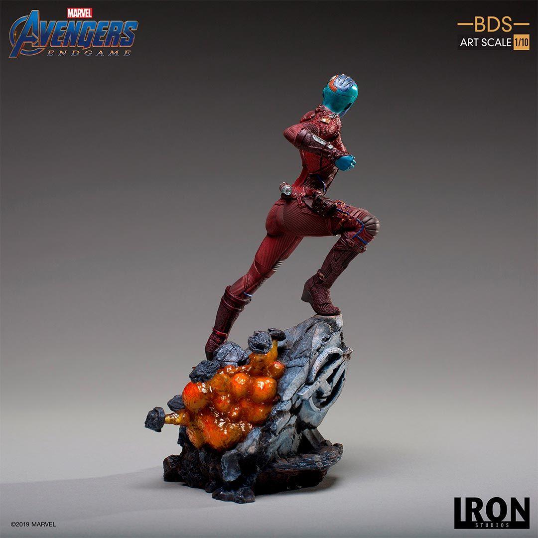 Avengers Endgame Nebula Ronin Figures From Iron Studios