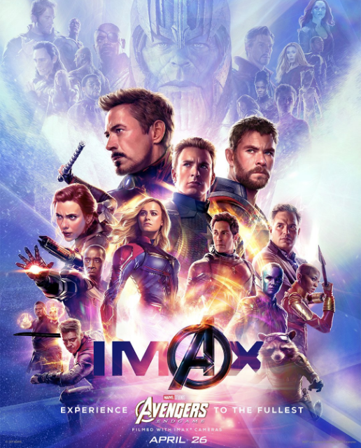 Avengers Endgame Poster Artwork