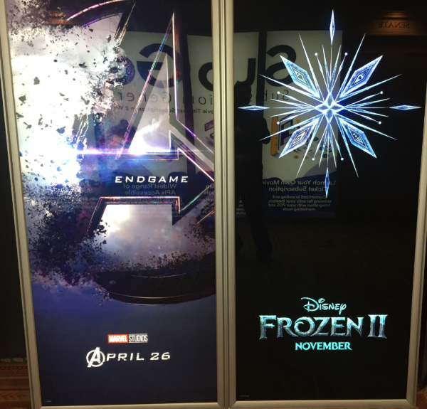 cinemacon  new movie posters including avengers  sonic and