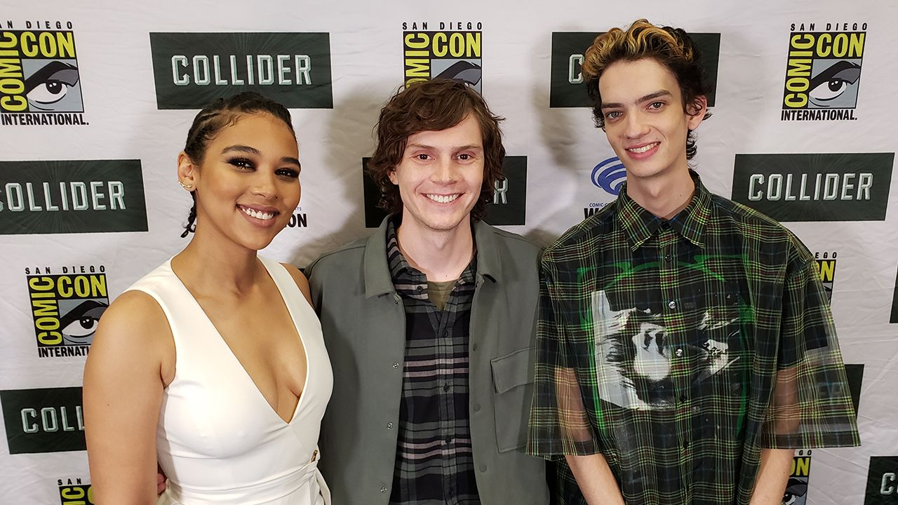 Evan Peters, Alexandra Shipp, and Kodi Smit McPhee Talk 'Dark Phoenix' and Disneyland